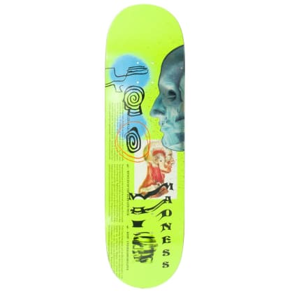 "Madness Skateboards - Skinned Deck 8.75"" Wide"