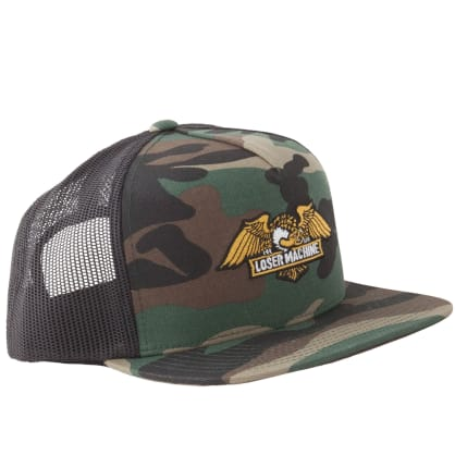 Loser Machine Wings Trucker Cap | Camo