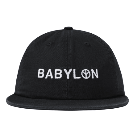 "BABYLON LA - ""ENZYME SHOP SHOP HAT"" (BLACK)"