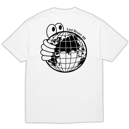 Last Resort AB World T-Shirt - White / Black