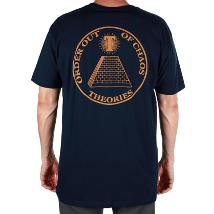 Theories - Chaos Tee - Midnight Navy