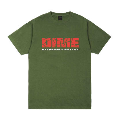Dime Extremely Buttaz T-Shirt - Olive