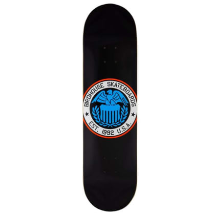 Birdhouse Eagle Logo Black Skateboard Deck - 8.25