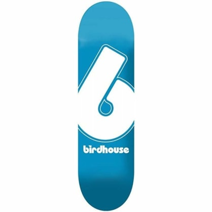 Birdhouse Blue Giant B Logo Skateboard Deck - 7.75""
