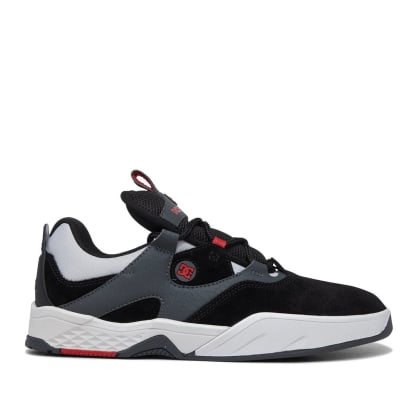 DC Kalis Skate Shoes - Black / Grey / Red