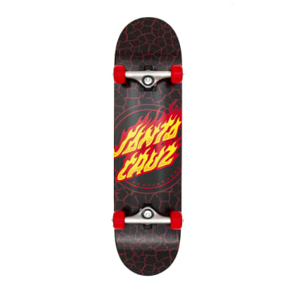 Santa Cruz Flame Dot Complete Skateboard - 8.0""