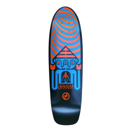 "Darkroom Skateboards - Triclops Cruiser Deck 8.25"" Wide"