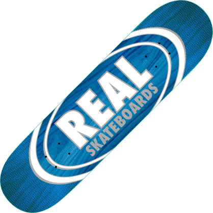 "Real Oval Patterns Team series deck (8.75"")"