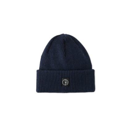 Polar Skate Co Double Fold Merino Beanie - Navy