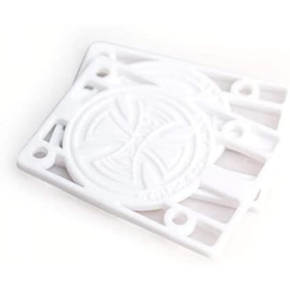 Independent - Genuine Parts White Risers 1/8 in. (pack of 2)