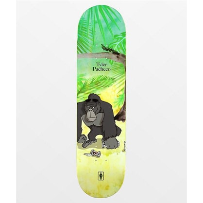 Girl - Pacheco Jungle Beers One Deck 8""