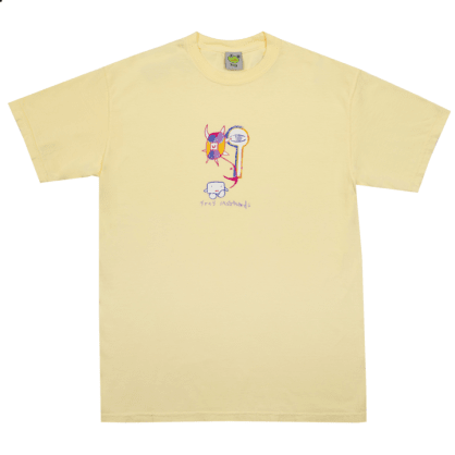 Frog Skateboards Tree Spirit T-Shirt - Yellow