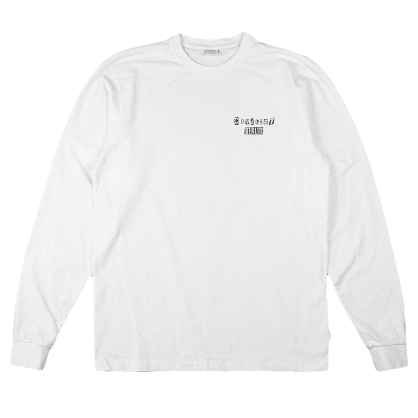 Civilist - Lennie Long Sleeve - White