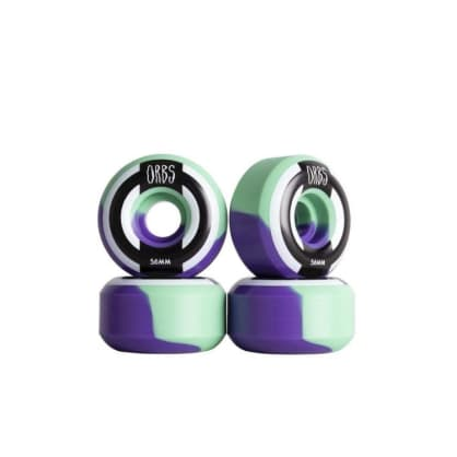 Orbs Wheels- Apparitions 56mm Splits Mint/Lavender