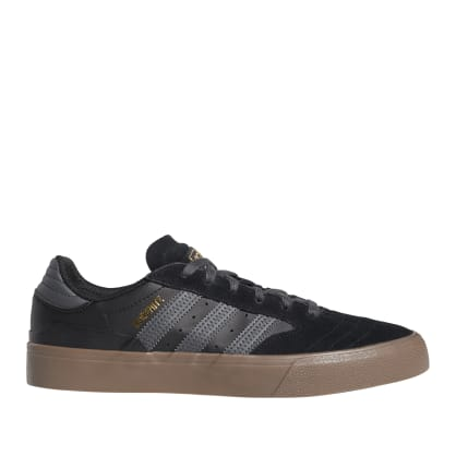 adidas Skateboarding Busenitz Vulc II Shoes - Core Black / Grey / Gum
