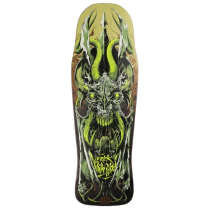 "Santa Cruz Skateboards - Eric Winkowski Primeval Deck 10.34"" Wide"