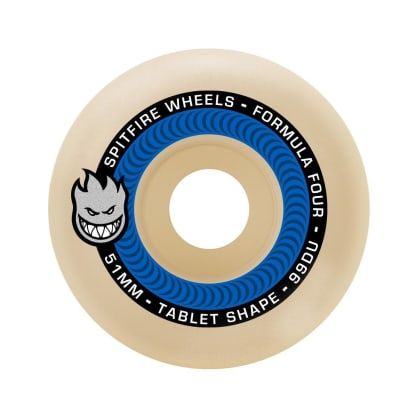 Spitfire F4 99a Tablets 53mm Natural/Blue