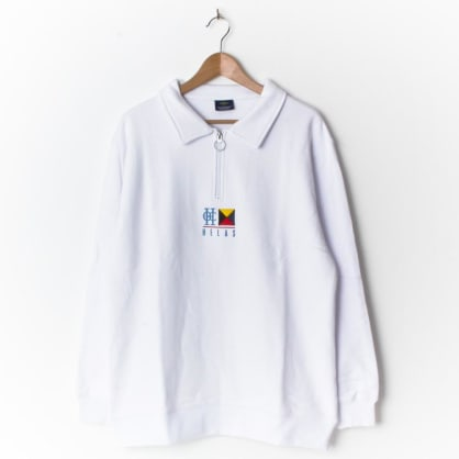 Hélas Zulu Cruise Quarter Zip White