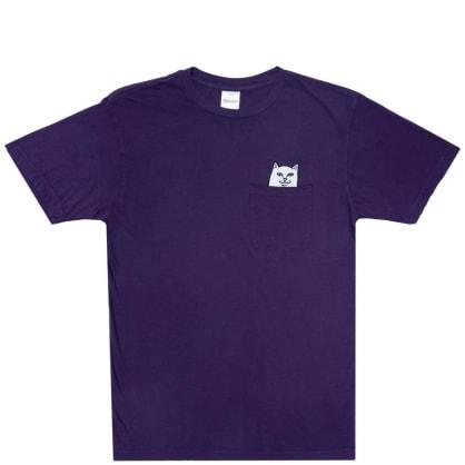 Ripndip Lord Nermal Pocket T-Shirt - Purple