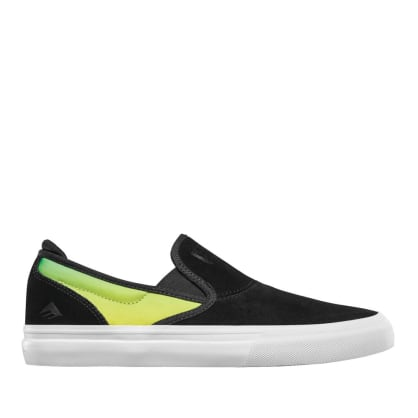 Emerica X Creature Wino G6 Slip On Skate Shoes - Black
