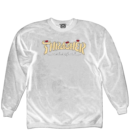 Thrasher Calligraphy Sweatshirt - Black
