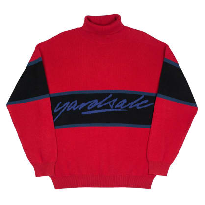 Yardsale South Bay Roll-Neck Long Sleeve - Cardinal