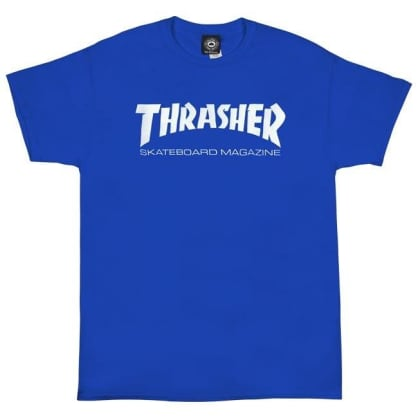 Thrasher - Skate Mag SS Royal/White L