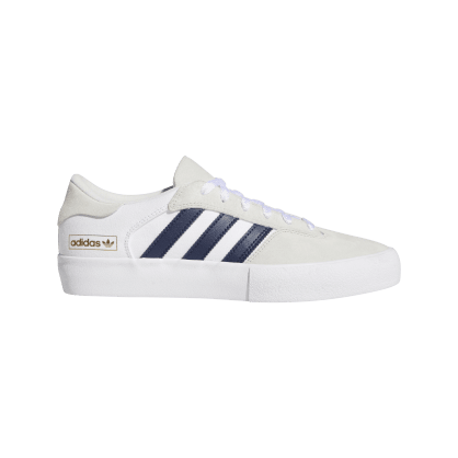 Adidas Matchbreak Super Skateboarding Shoes - Crystal White/Collegiate Navy/FTWR White