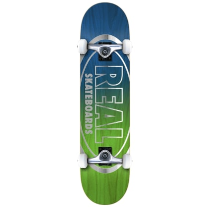 """Real Oval Outliners Complete Skateboard - 7.5"""""""