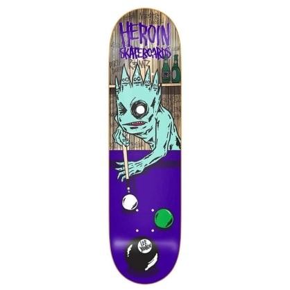 HEROIN DECK LEE YANKOU EIGHTBALL 8.25""