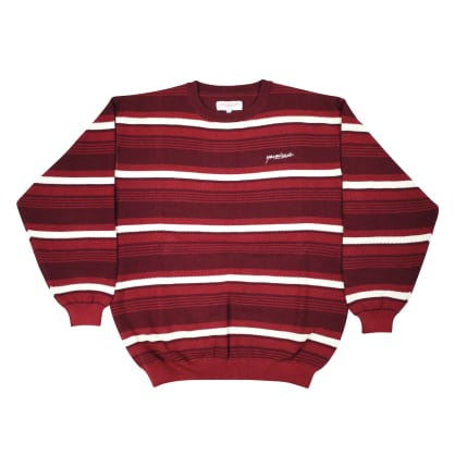 Yardsale - Mirage Crewneck Sweatshirt - Burgundy