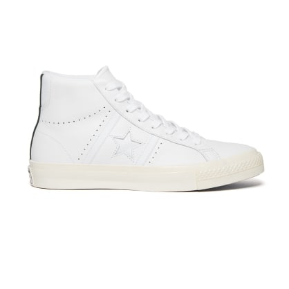 Converse Cons One Star Academy Hi Skateboarding Shoes - White/Fir/Egret