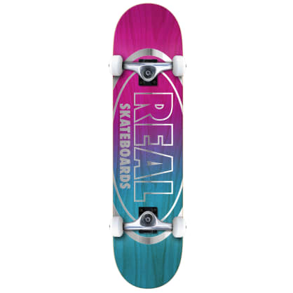 """Real Oval Outliners Complete Skateboard - 8"""""""