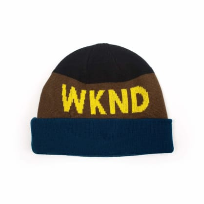WKND Collision Watchcap Beanie - Black