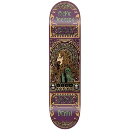 "Death Skateboards - Richie Jackson Art Nouveau Deck 8"" Wide"