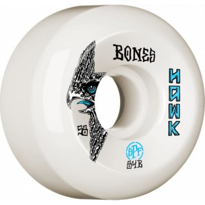 BONES WHEELS SPF Pro Hawk Bird's Eye Skateboard Wheels P5 Sidecut 58mm 84B