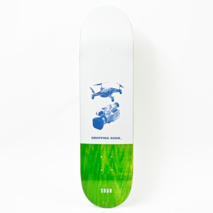 """Sour Dropping Soon Deck Green 8.25"""""""""""