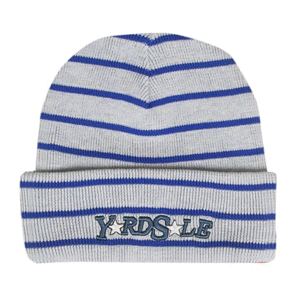 Yardsale Magic Stripe Beanie - White / Black