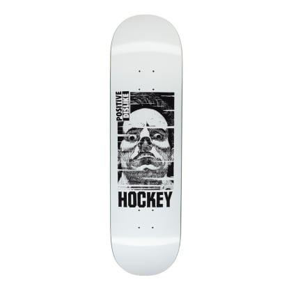 "Hockey Positive Dislike Skateboard Deck - 8"""