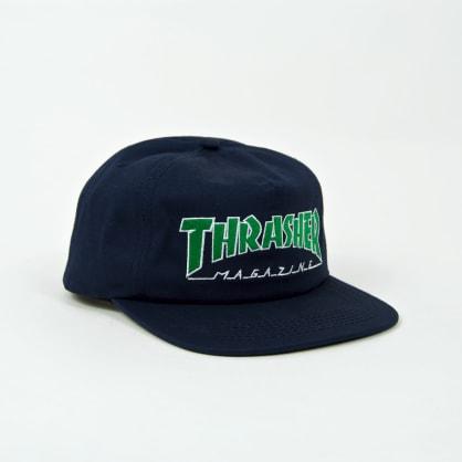 Thrasher - Outlined Snapback Cap - Navy