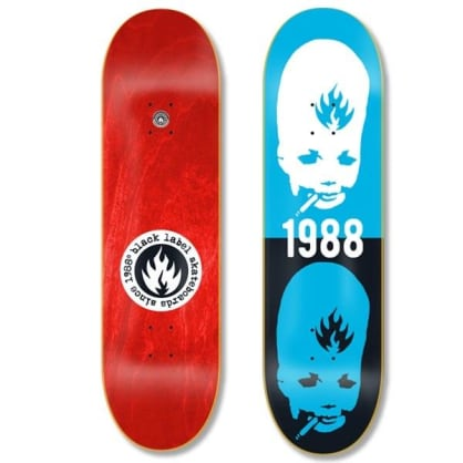 Black Label Skateboards- Thumbhead Deck 8.5""