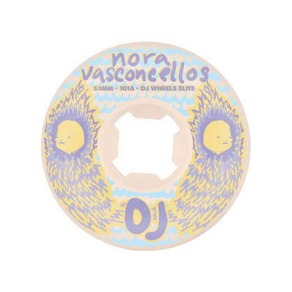 Oj Wheels - OJ Elite Wheels - Nora Waves 53mm