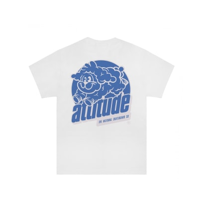 The National Skateboard Co Attitude T-Shirt - White