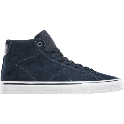 Emerica Omen Hi Skate Shoes - Navy