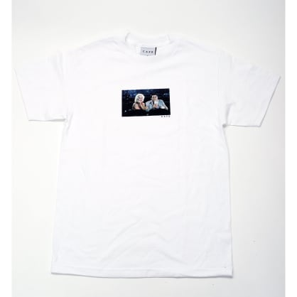 Skateboard Cafe Cinema T-Shirt White