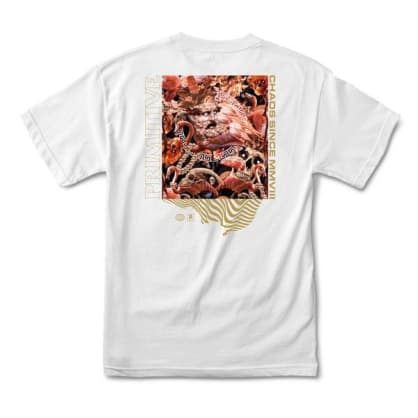 PRIMITIVE Chaos Tee White
