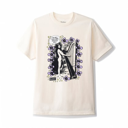 Butter Goods Harp T-Shirt - Cream