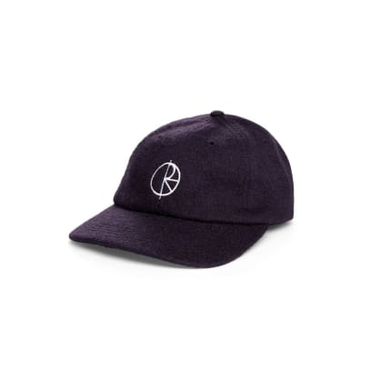 Polar Skate Co Boiled Wool Cap - Plum