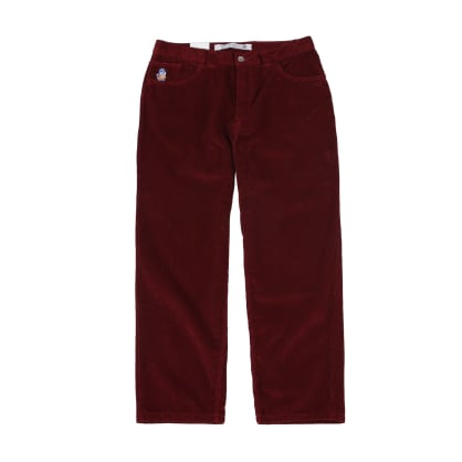 Polar - 93 Cord Trousers - Red