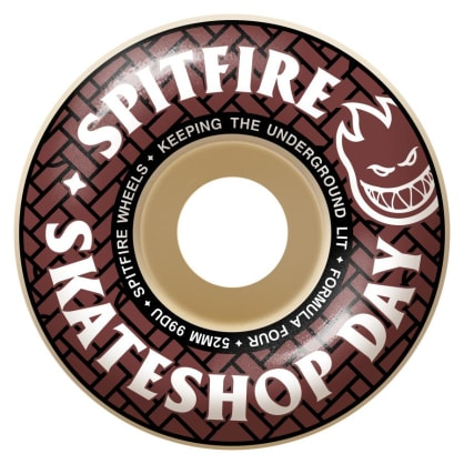 Spitfire Formula 4 Classic Skate Shop Day Wheels 52mm